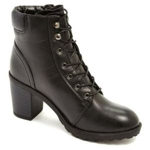 Size 8.5 Modern Rebel Faux Leather Boot